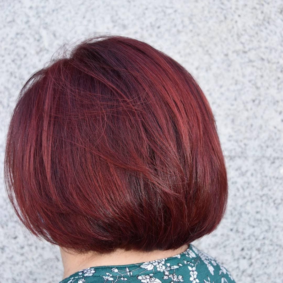 Peinado con reflejos